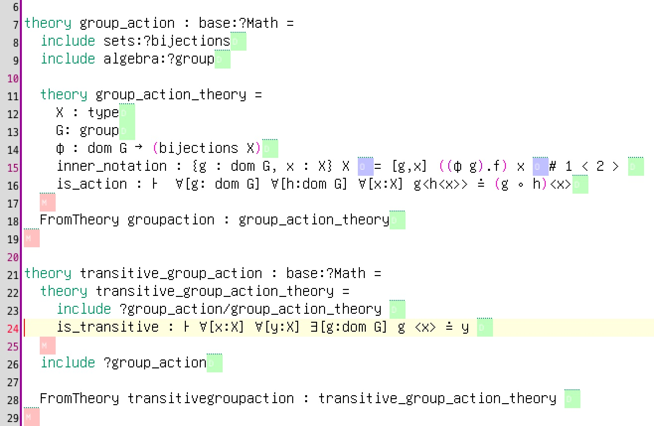 MMT syntax for transitive groups