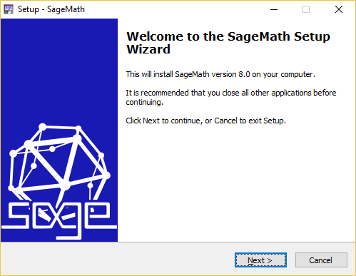 Sage for Windows Installer